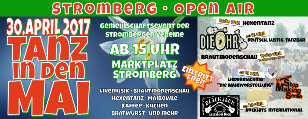 TiM - Open Air Stromberg 30.04.2017