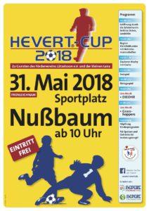 Hevert Cup 2018 - Plakat