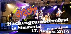 Backesgrumbierefest in Simmertal